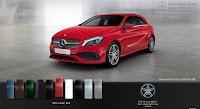 Mercedes A250 2018 màu Đỏ Jupiter 589