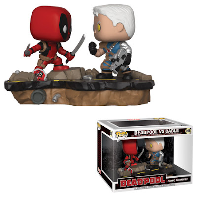 Deadpool vs. Cable Pop! Marvel Comic Moments Diorama by Funko