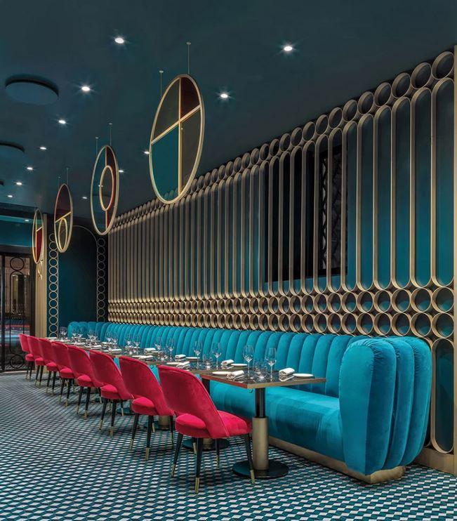 Die-Wohngalerie: Schwelgen in Art Deco – Lion Bar und Restaurant in Rom