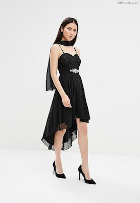 Vestidos de fiesta con cola