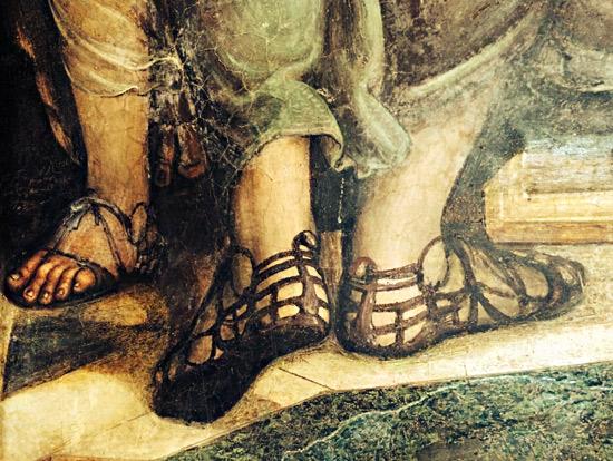 Risultati immagini per tomba del calzolaio