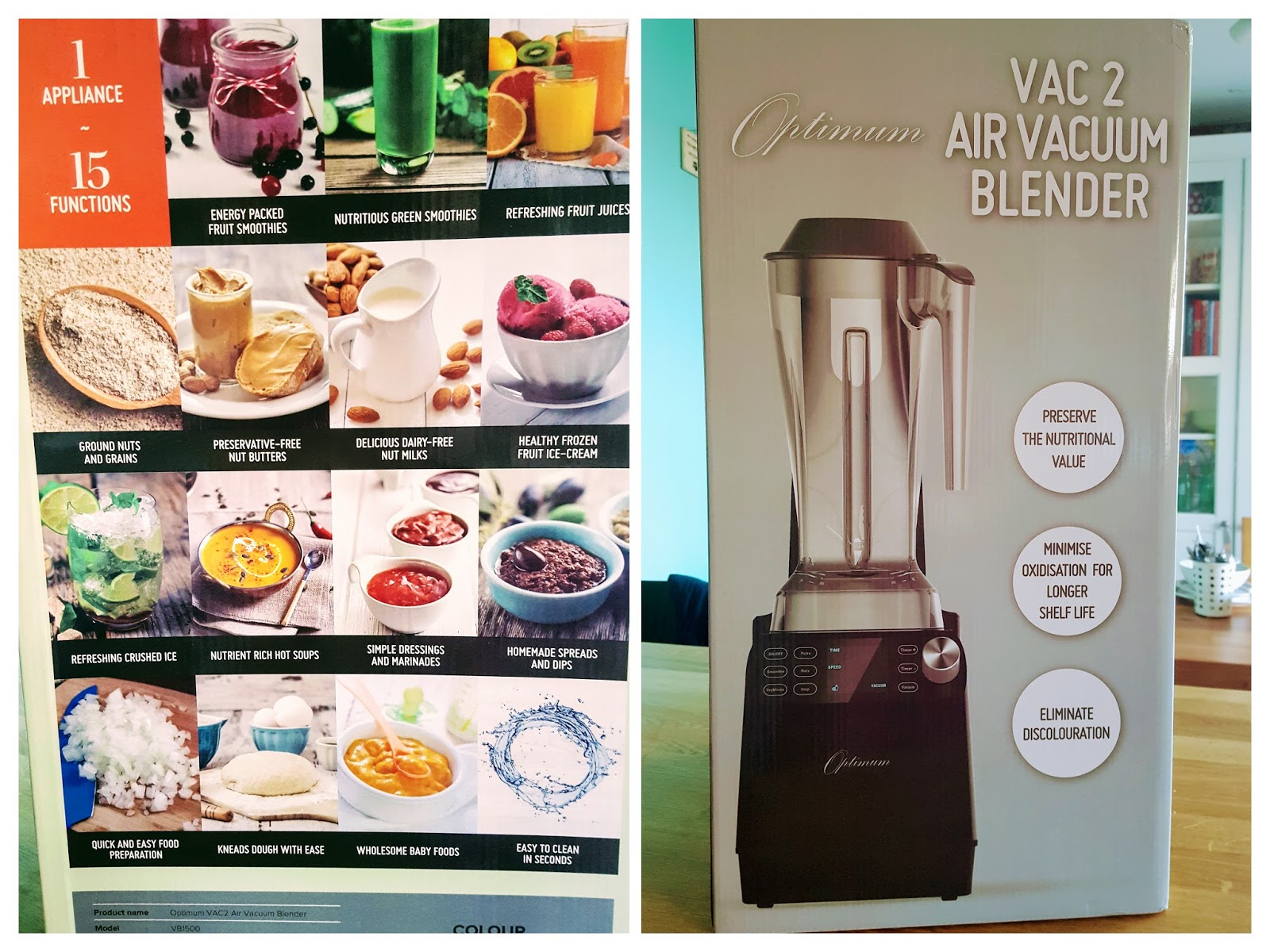 Optimum Vac 2 Air Vacuum Blender