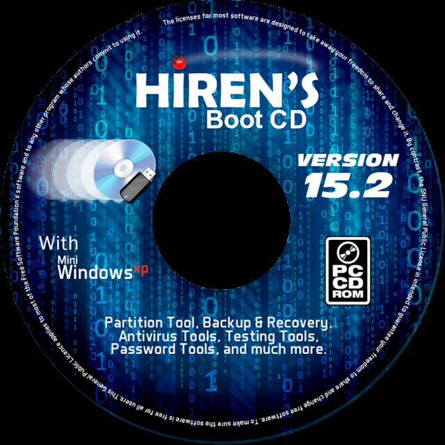 Hiren's BootCD v15.1 Restored Edition 2.0 Fixed 1.7GB