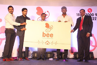 Actor Vishal launches Bee Home Care Healthcare at Your DoorStep 0022