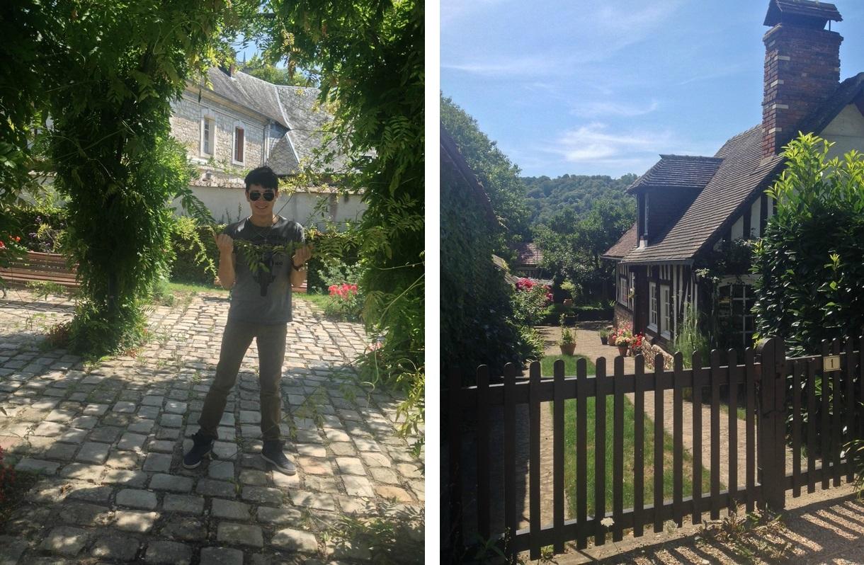 Bec Hellouin en Normandie