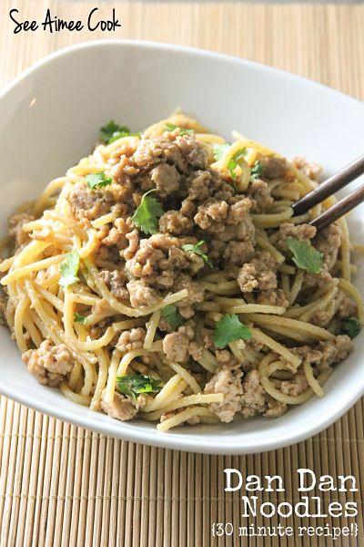 See Aimee Cook: Dan Dan Noodles (30 minute recipe!)