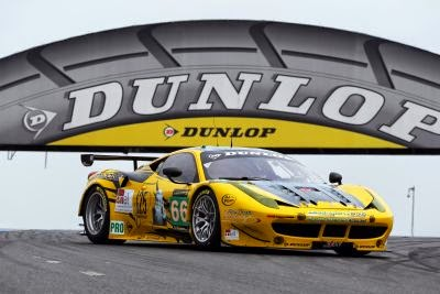 Dunlop were the choice of the 2012 ELMS champions