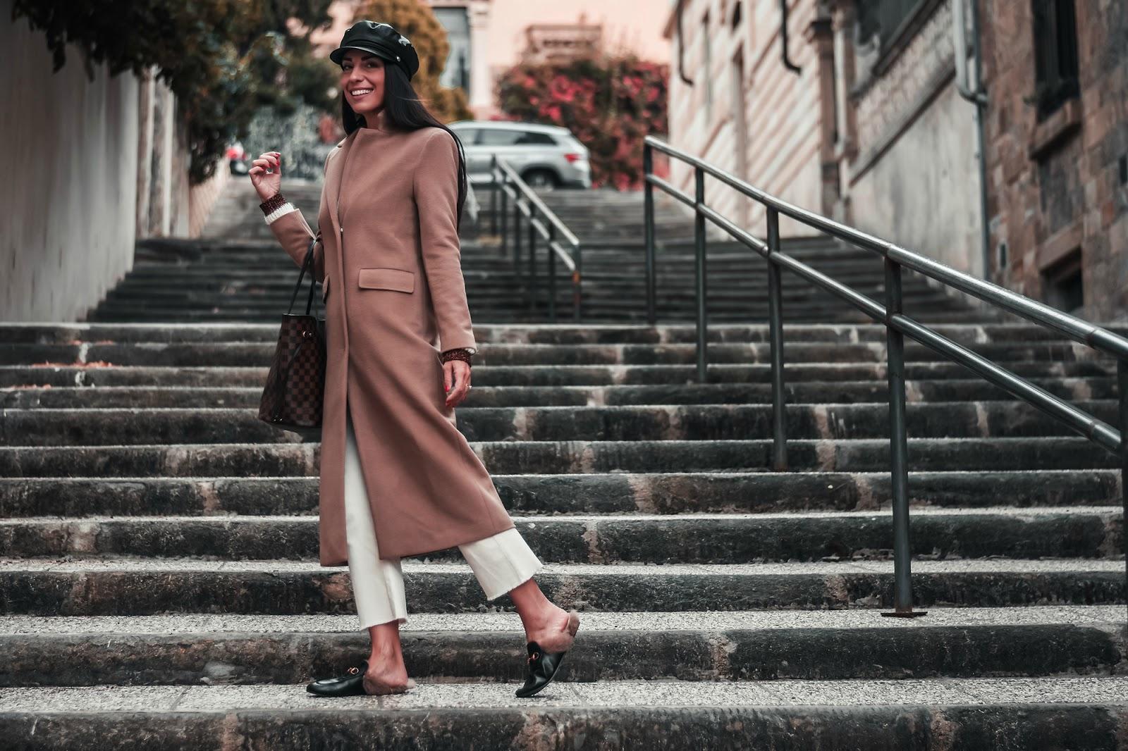tendenza cappotto cammello
