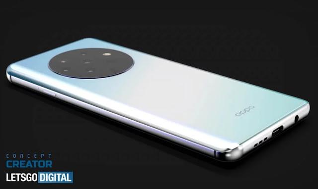 OPPO'nun yeni patenti OnePlus 7T benzeri yuvarlak kamera modülünü, ancak 7 kamerayla gösteriyor