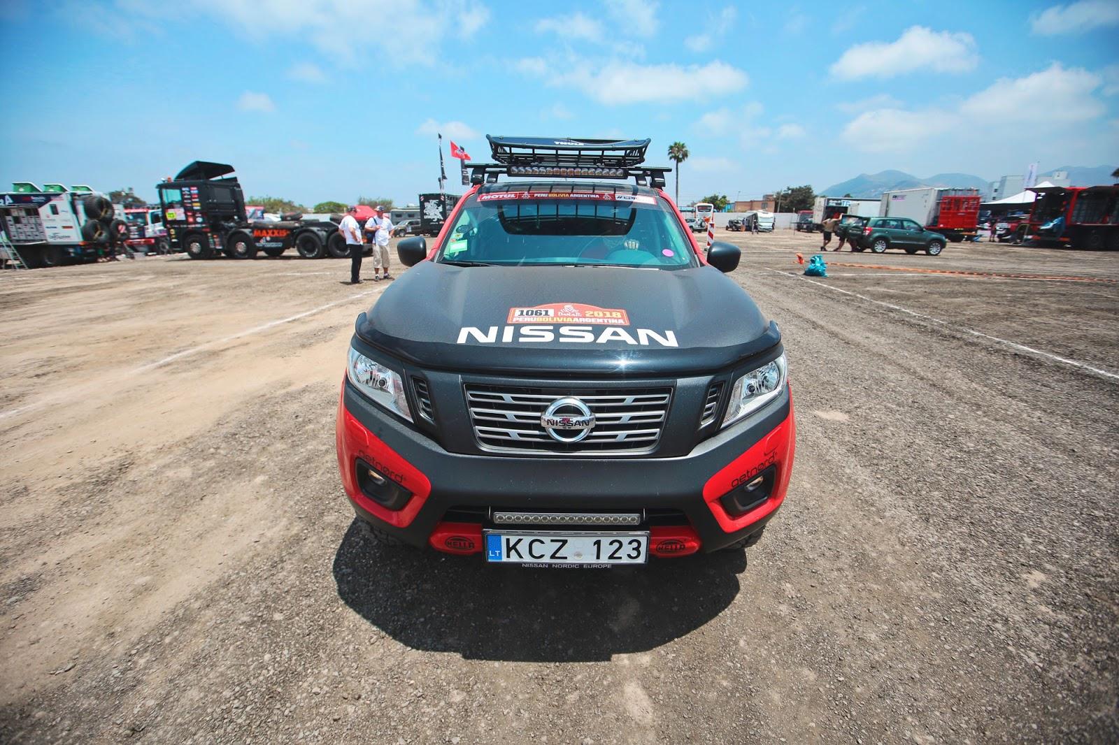Το  Nissan NAVARA στο Ράλι Ντακάρ !