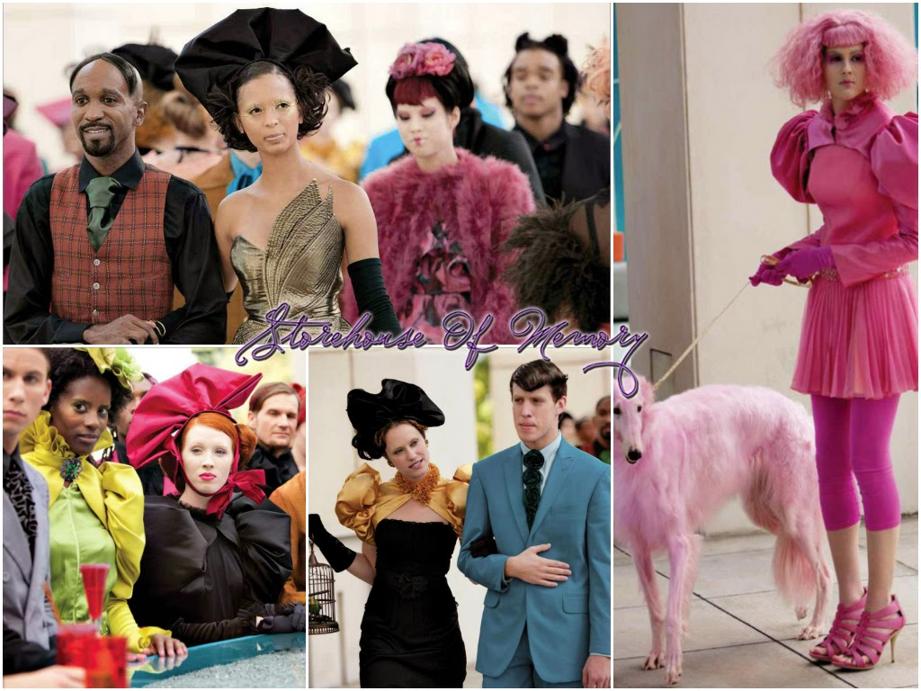 Art In Couture The Hunger Games Storehouse Of Memory