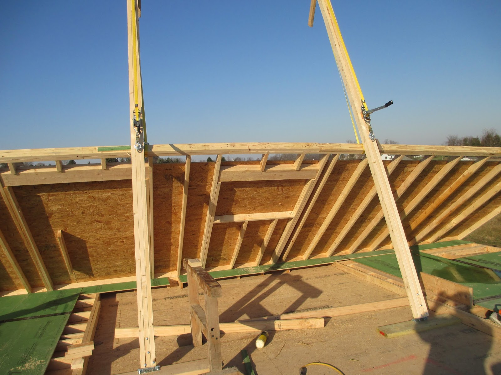 Wall Jacks For Framing rochester passive house: wall assembly 1