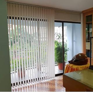 Proyek Vertikal Blind apartemen