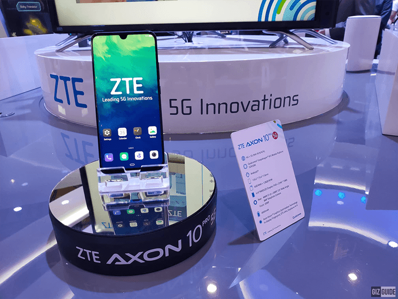#MWC2019: ZTE announces its first 5G-ready smartphone, the Axon 10 Pro 5G