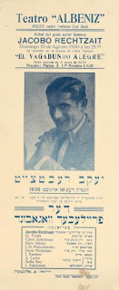 Yiddish theater actor Jack Rechtseit