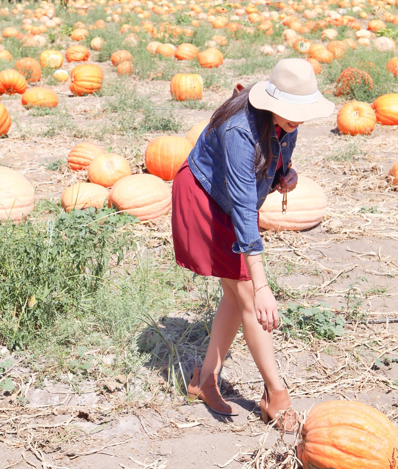 pumpkin patch outfit, san diego fashion blogger, latina fashion blogger