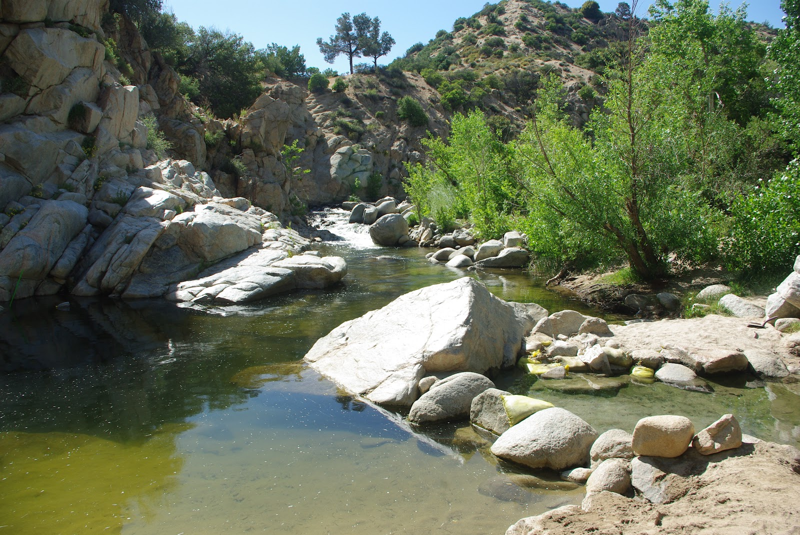 Deep Creek Hot Springs | Here is a view of the area where