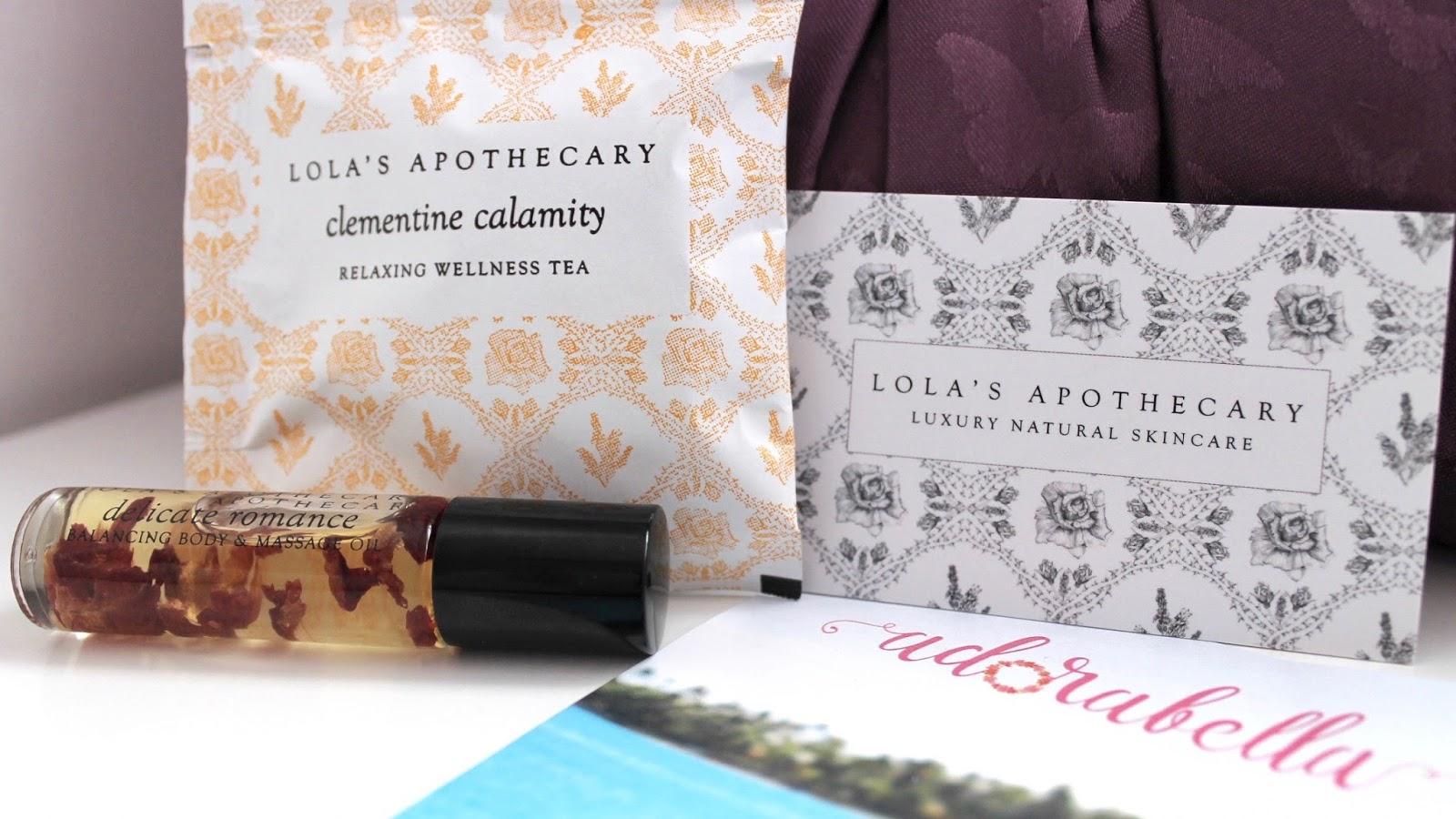 Lola's Apothecary Tea & Rose Scent