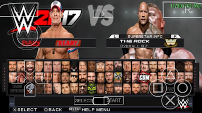 Download WWE2K 2017 For PPSSPP+Save Data