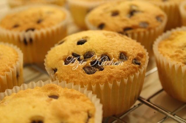 Vanilla Dan Chocolate Chips Cupcakes