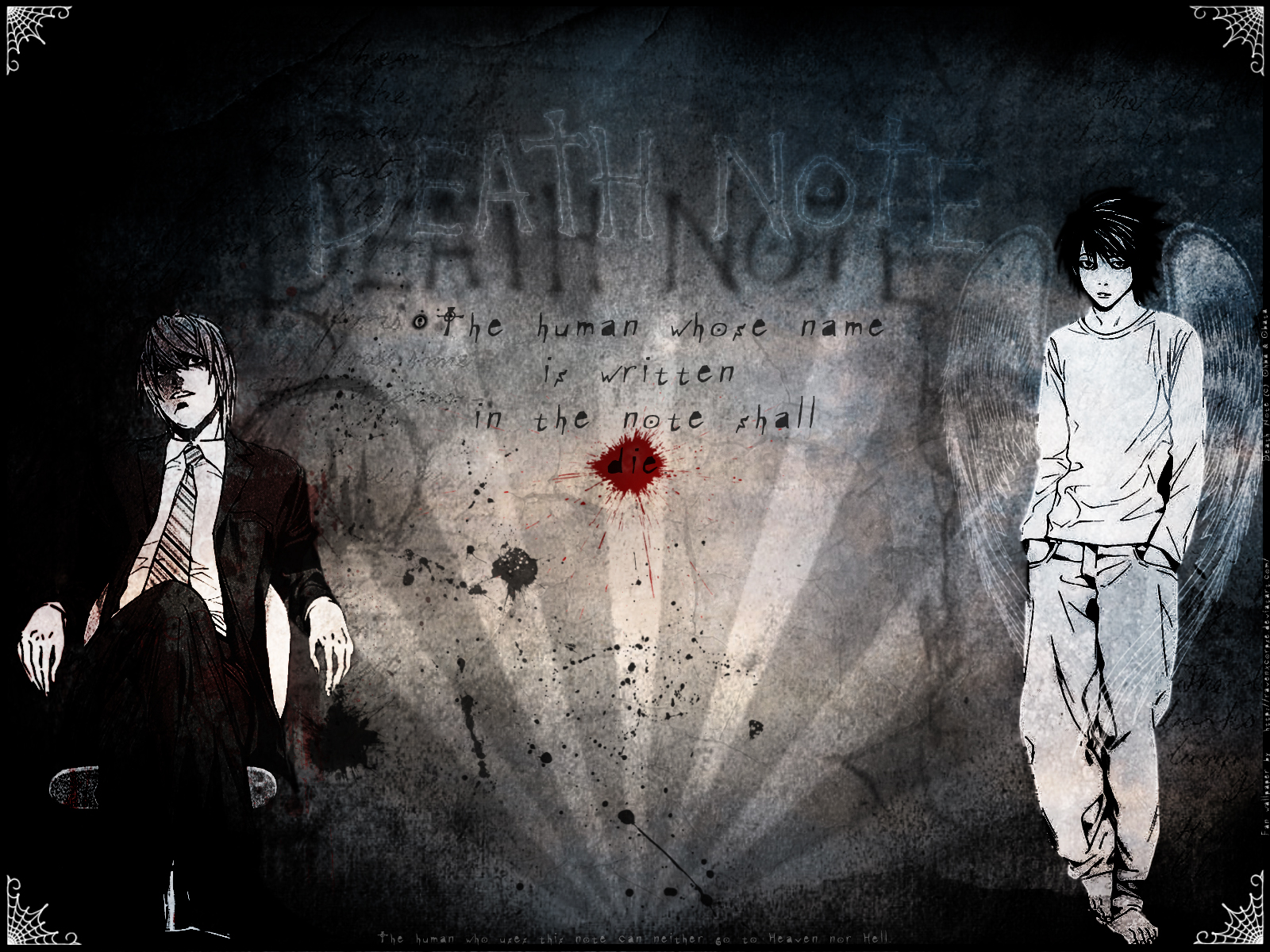 All About Football Death Note L Hd Wallpaper