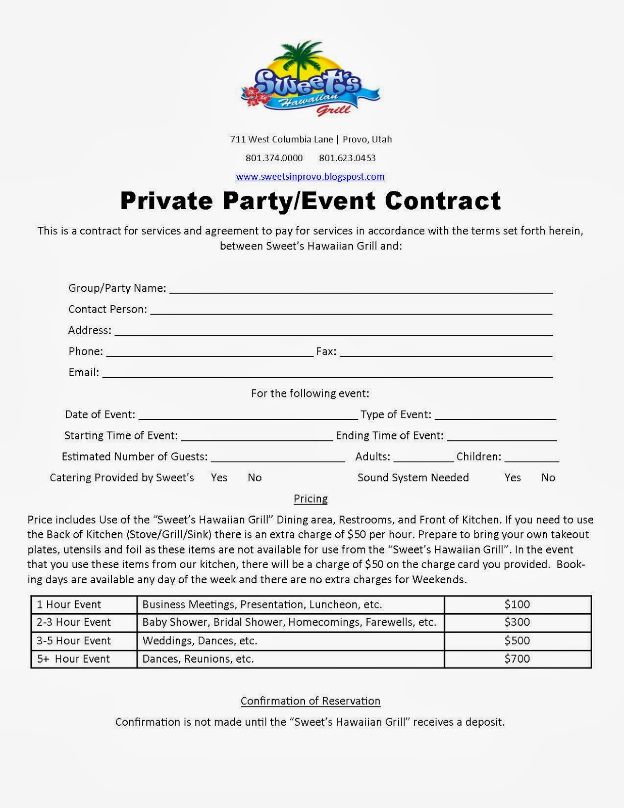 Event Contract Template party planners planners and templates on – Event Planner Contract Example