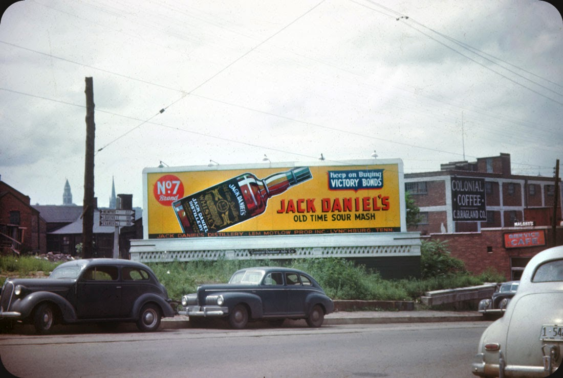 billboards from nashville  tennessee in late 1940s