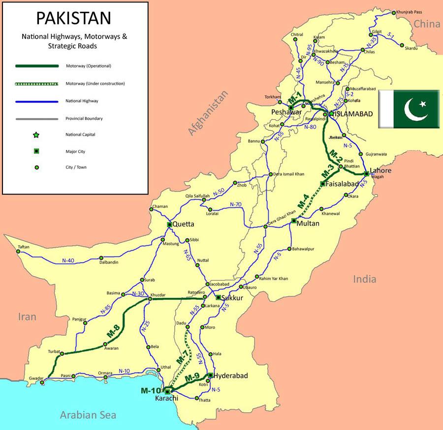 Islamabad Roads: Its All About Desi Nagar: Maps Of Pakistan