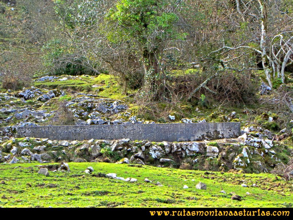 Ruta Montaña al Pienzu: Campera con abrevadero
