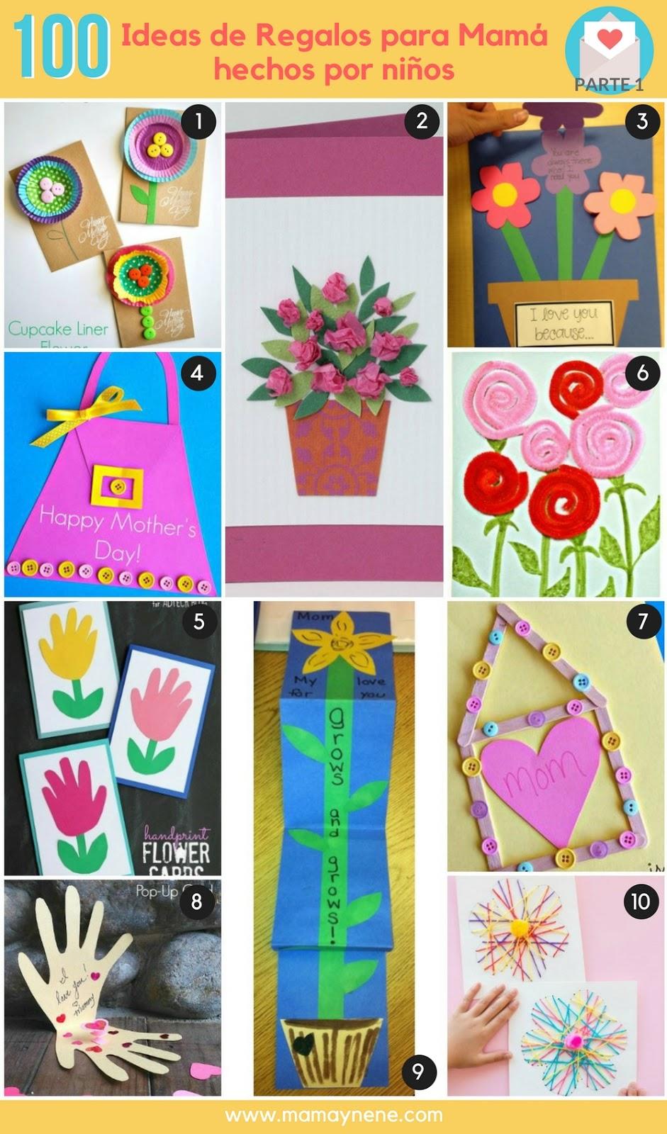 100 ideas de regalos para mam hechos por ni os mam for Ideas para mama
