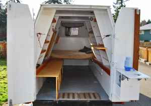 Relaxshacks Com A Homemade Trailer Camper Tiny Mobile