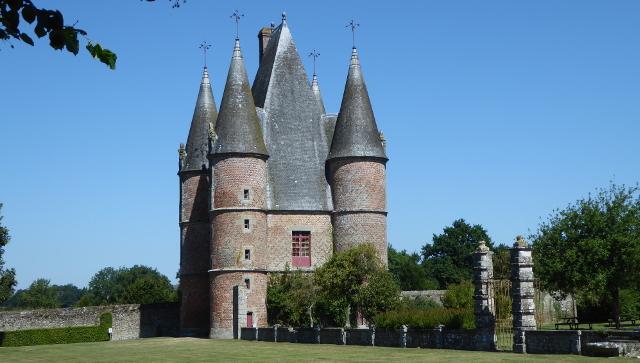 Accès al recinte del castell
