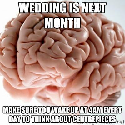 Wedding brain meme