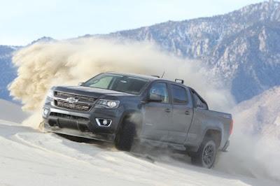 New 2016 Chevrolet Colorado off road