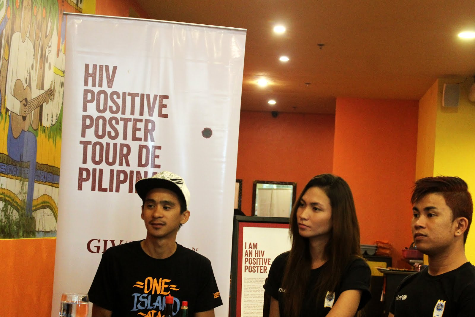 A thought-provoking poster raises HIV awareness  HIV, AIDS, Awareness, Creative, Creativity, Inspiration, Poster, Faustine Luell Angeles Jr, Iloilo, Positive Poster Tour, Advocacy, Pedal for HIV, Tour De Pilipinas