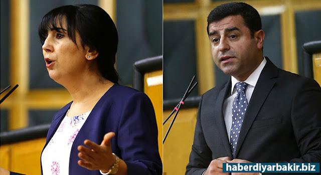 DİYARBAKIR-HDP Eş Genel Başkanları Selahattin Demirtaş ile Figen Yüksekdağ Diyarbakır 2'inci Sulh Ceza Hakimliği tarafından tutuklandı.