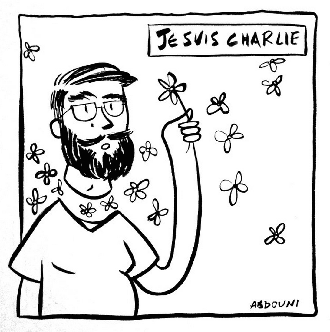 Lebanese Artists Pay Tribute To Jesuischarlie