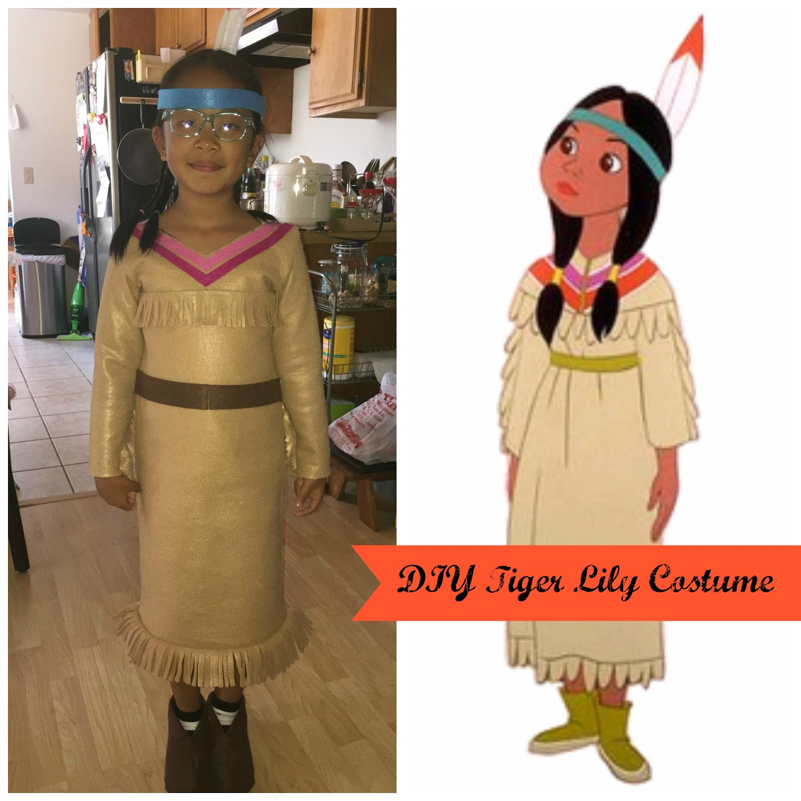 Adventures In Diy Diy Peter Pan Group Costumes Tiger Lily