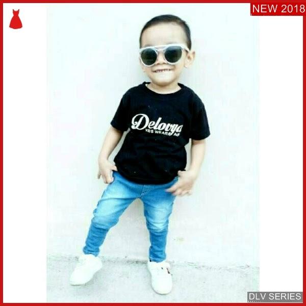 DLV10L23 Long Jeans Anak Stretch Celana Panjang Balita Murah BMG