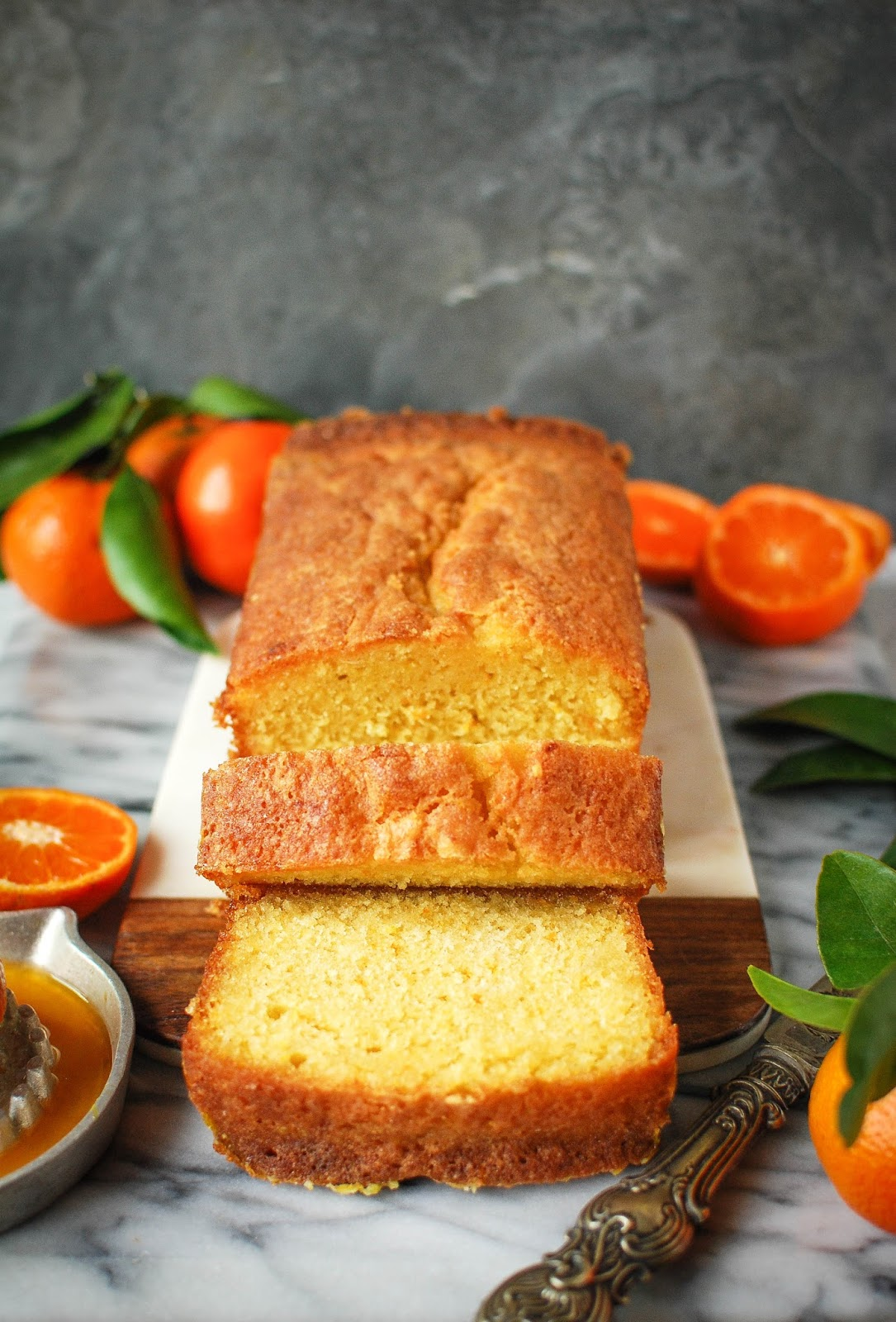 Super zesty orange drizzle loaf, perfect with a cup of tea and a good book.
