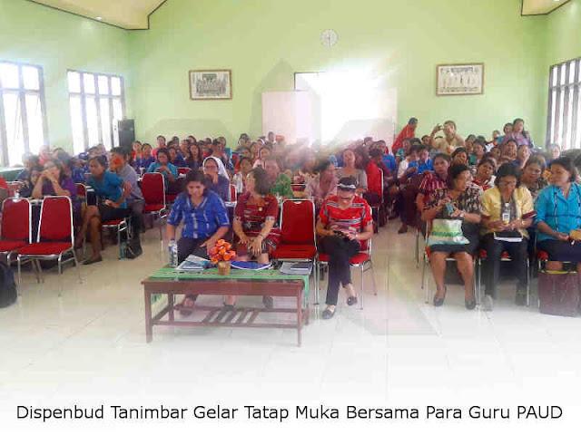 Dispenbud Tanimbar Gelar Tatap Muka Bersama Para Guru PAUD