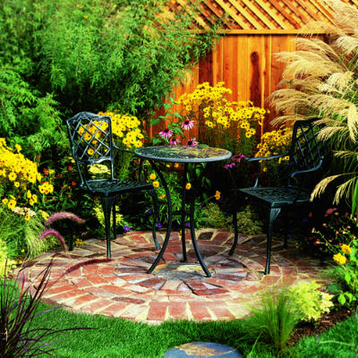 building an instant patio Step-by-step