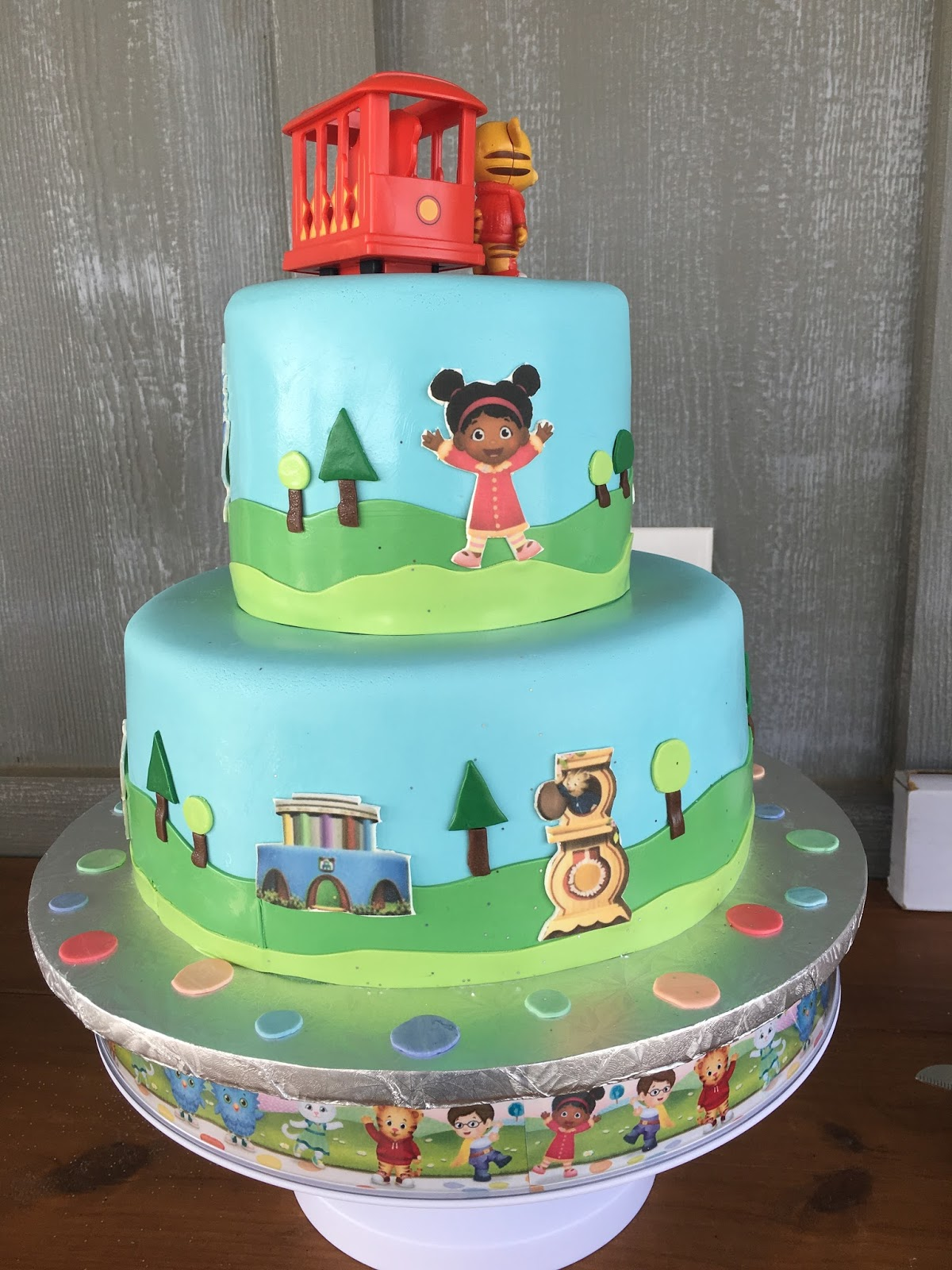 daniel tiger cake the of mrs martinez grant s 2nd birthday daniel 3305