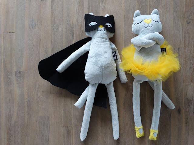 przytulanka kotek baletnica 1