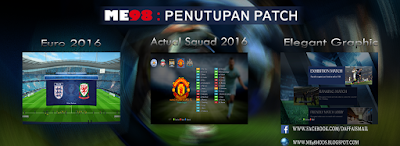 ME98 Penutupan Patch (Free) for PESEDIT 6.0