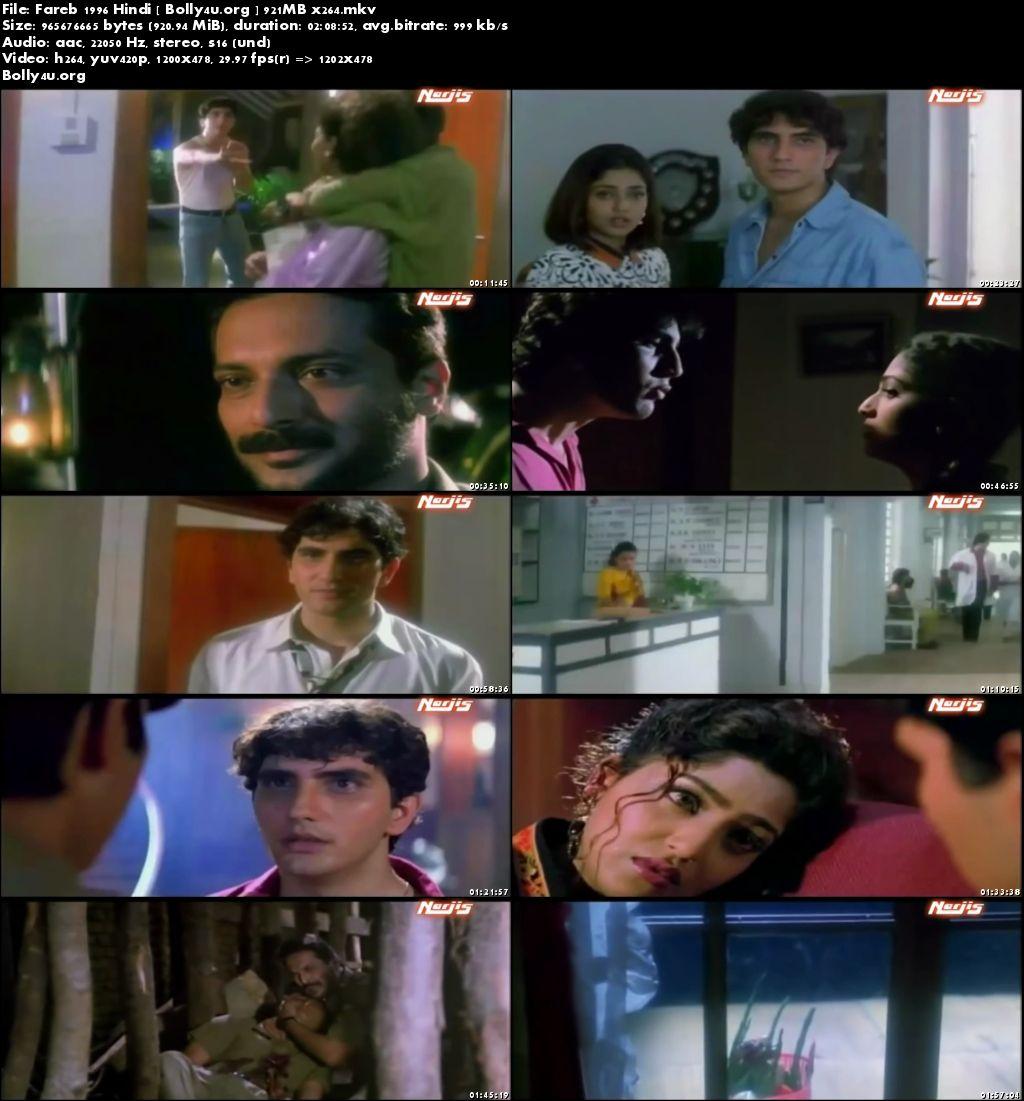 Fareb 1996 Full Hindi Movie Download 900MB x264