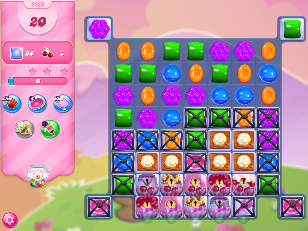 Candy Crush Saga level 3232