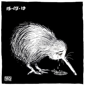 New Zealand Cartoonists Respond to the Christchurch Terror Attacks