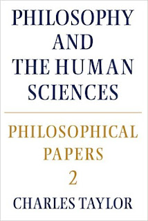 Philosophy and the human sciences · Charles Taylor