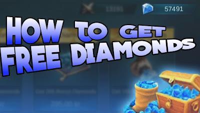 Cara Mendapatkan Diamonds Mobile Legends Gratis